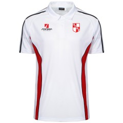 Earlsdon White Performance Polo Shirt